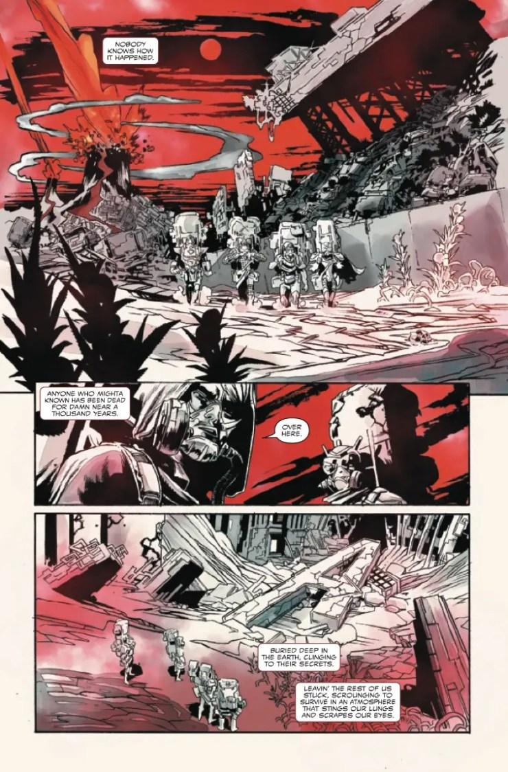 Marvel Preview: Carnage: Black, White & Blood #4
