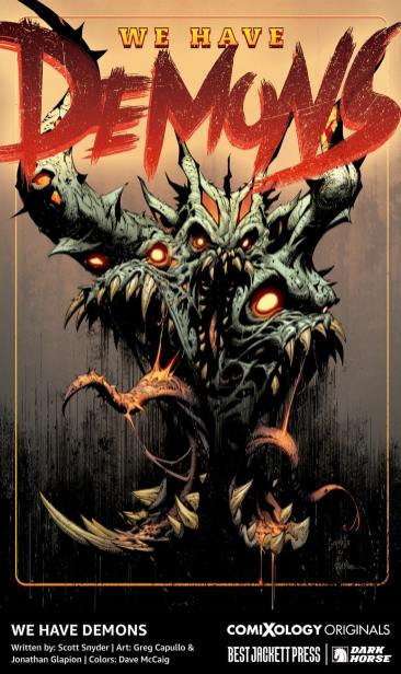 We are Demons Scott Snyder Greg Capullo comixology