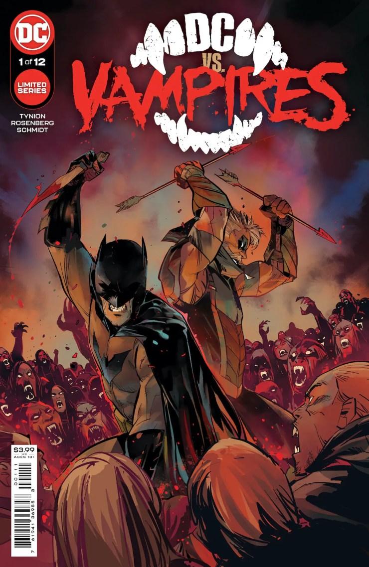DC Comics announces 'DC vs. Vampires' for October 2021
