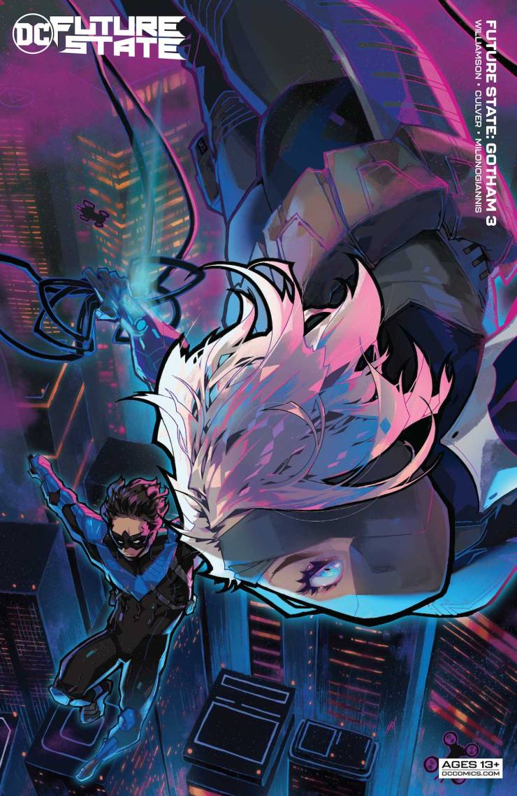 DC Preview Future State #3: Gotham