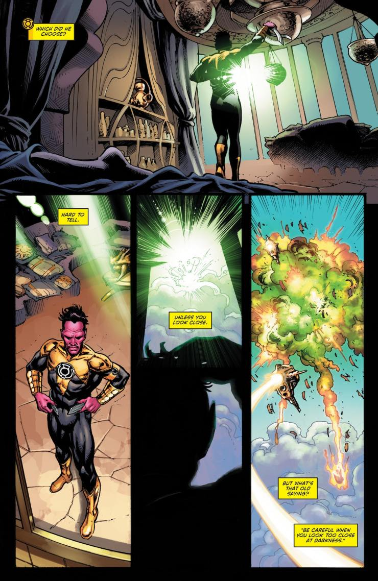 DC Preview: Green Lantern #5