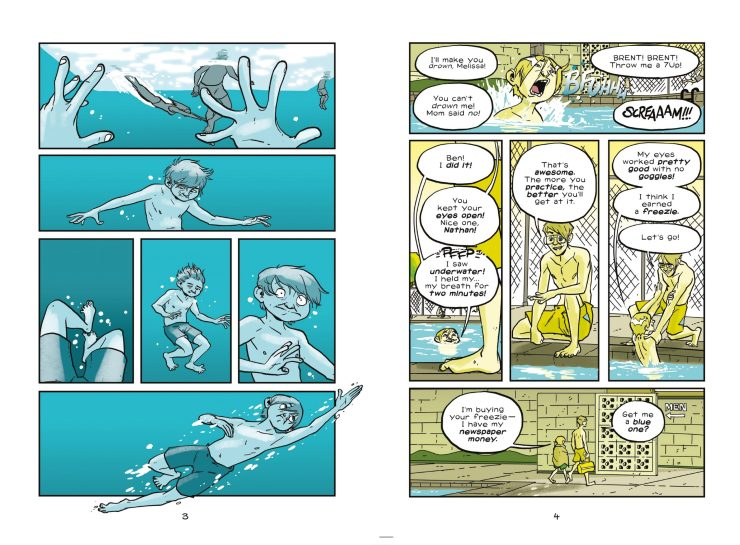 Mike Holmes blends memoir and fantasy with 'My Own World' GN