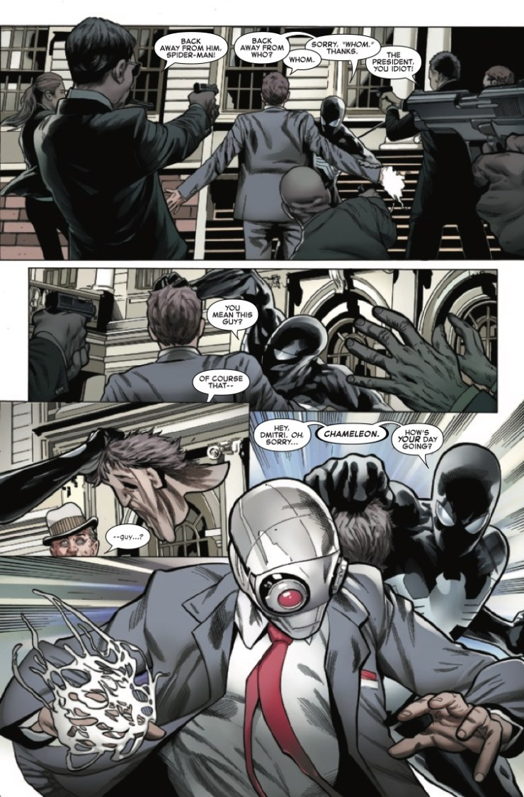 Marvel Preview: Symbiote Spider-Man: Crossroads #1