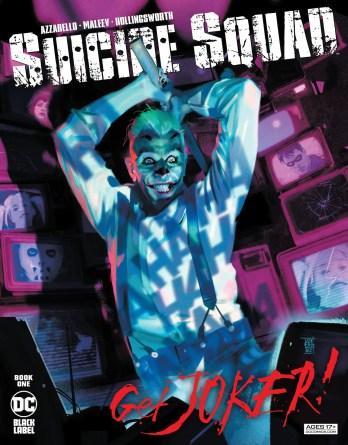 Finding a distinct voice: Brian Azzarello and Alex Maleev talk 'Suicide Squad: Get Joker!'