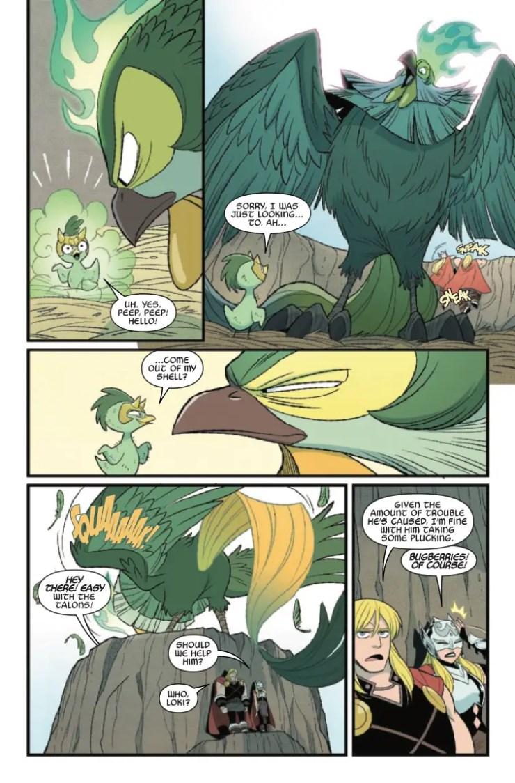 Marvel Preview: Thor & Loki: Double Trouble #4
