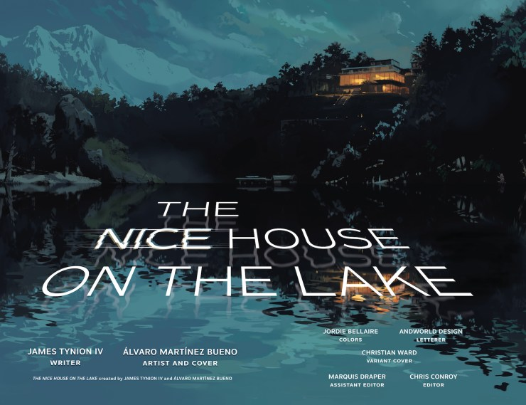 DC Preview: The Nice House on the Lake #3