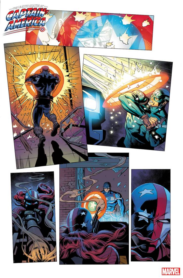 Marvel First Look: The United States of Captain America #2