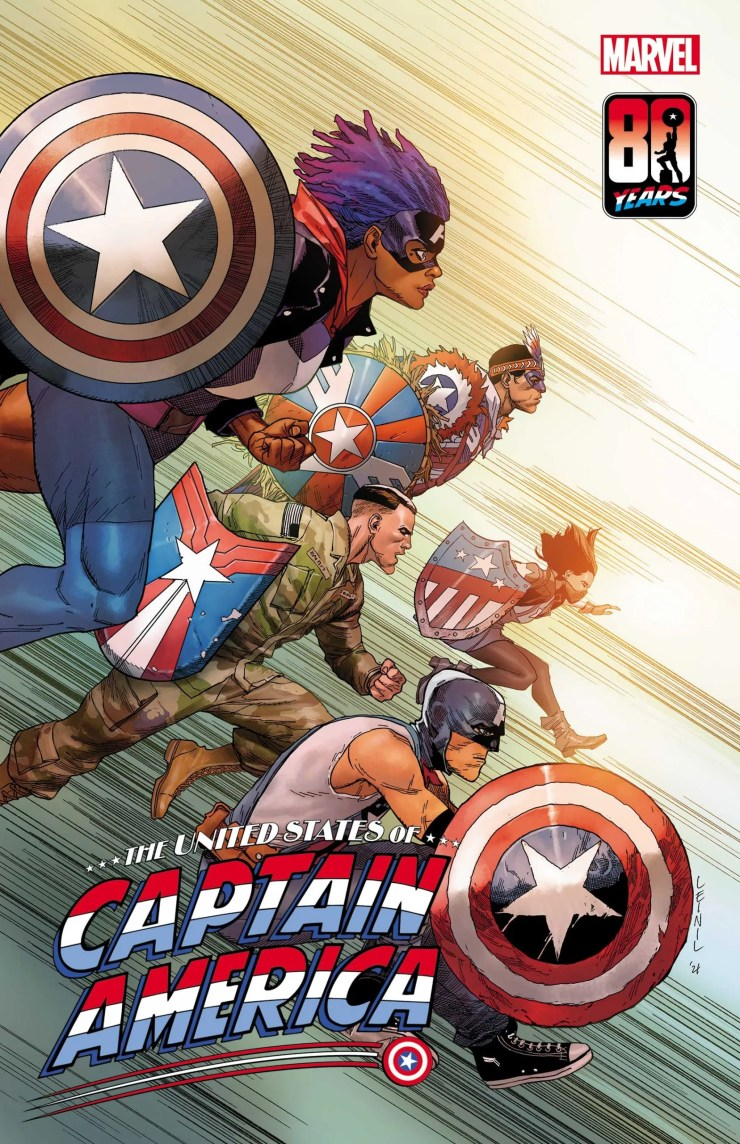 Marvel releases cover featuring new Local Captain America's
