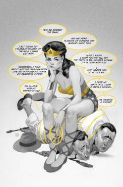 Wonder Woman Black and Gold #5