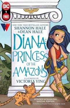 Wonder Woman Diana Princess of the Amazons