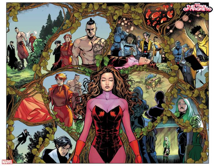 Marvel First Look: X-Men: The Trial Of Magneto #1