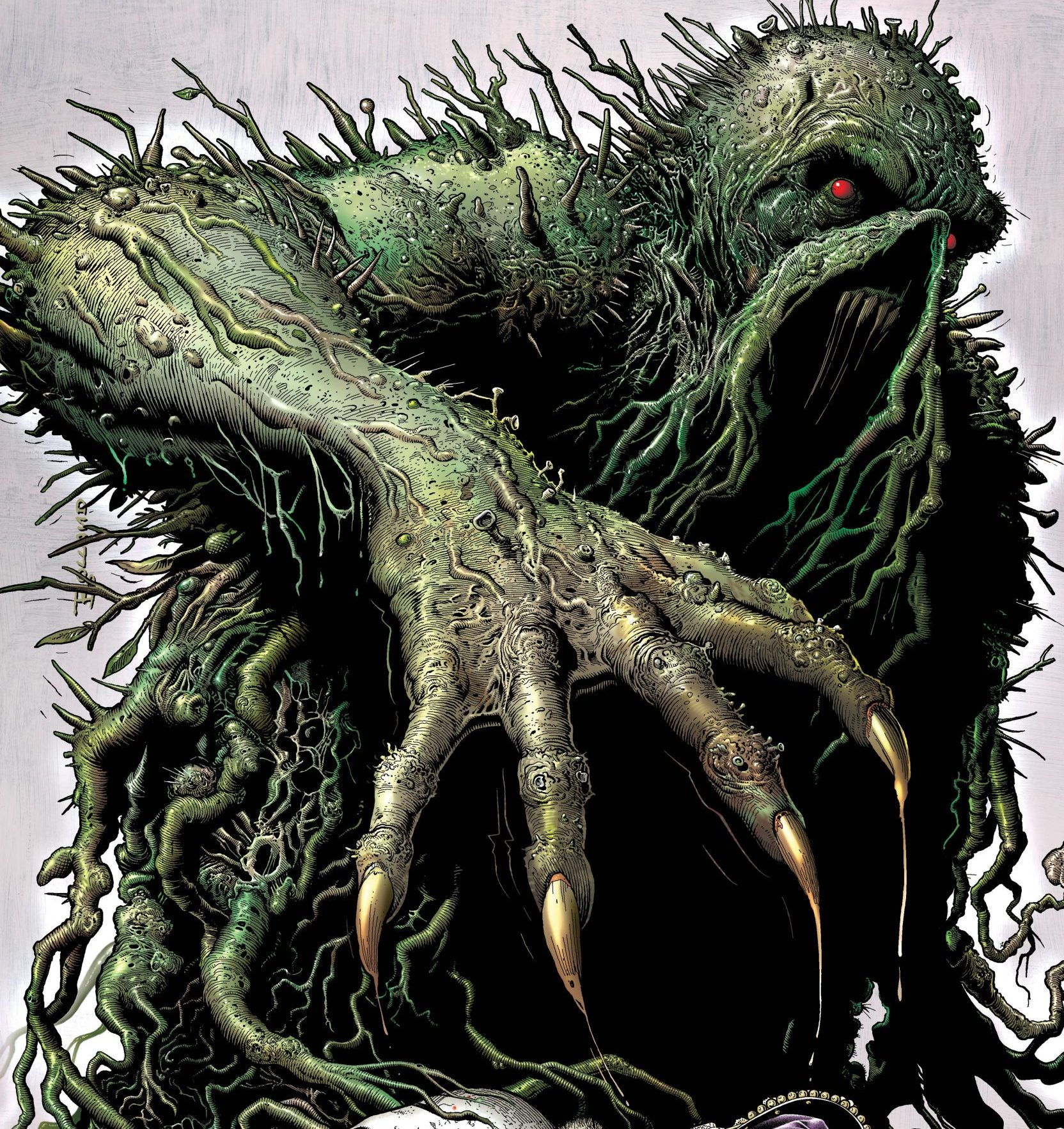 'The Swamp Thing' #5 review: War never changes