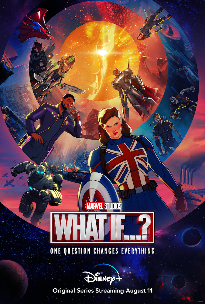 Disney+ reveals new trailer and poster for 'What If...?' series