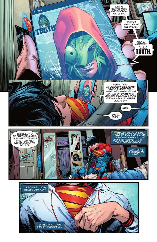 'Superman: Son of Kal-El' #2 review: Look! Up in the sky! It's a... boat?