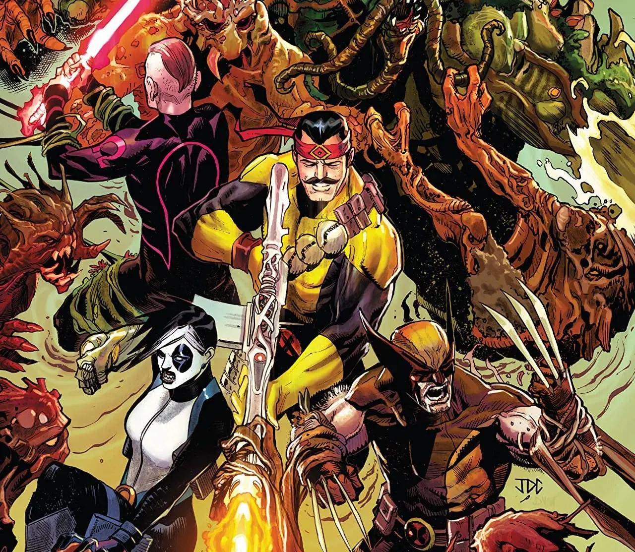 'X-Force' #22 features an all-out war on Krakoa