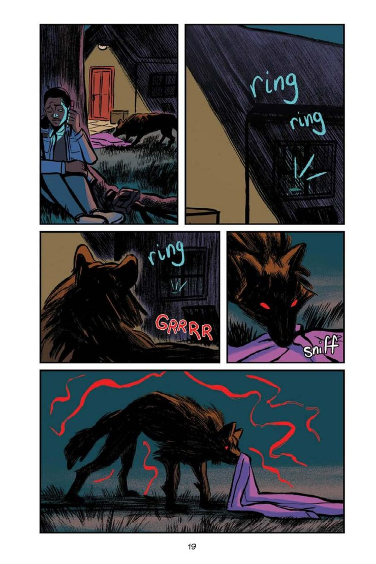 Olivia Stephens' YA Graphic Novel 'Artie and the Wolf Moon'