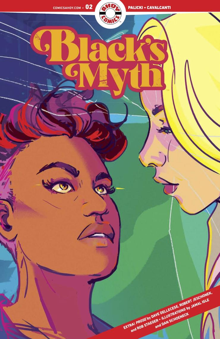 EXCLUSIVE AHOY Preview: Black's Myth #2