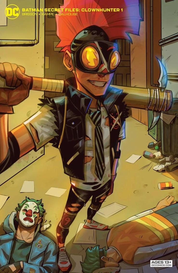 DC Preview: Batman Secret Files Clownhunter #1