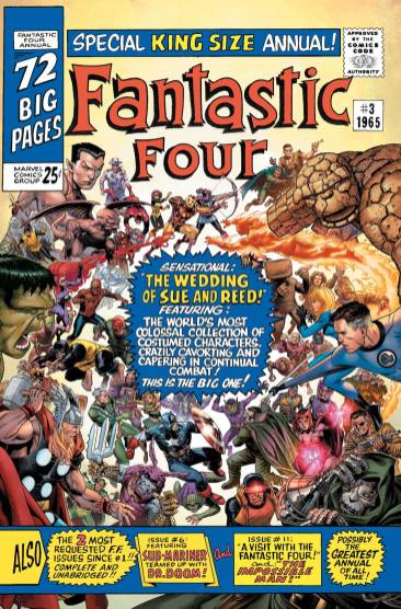 Marvel announces 'Fantastic Four Anniversary Tribute' #1 for November