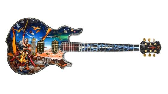 Heavy Metal Entertainment teams up with Incendium & Minarik to make custom guitars