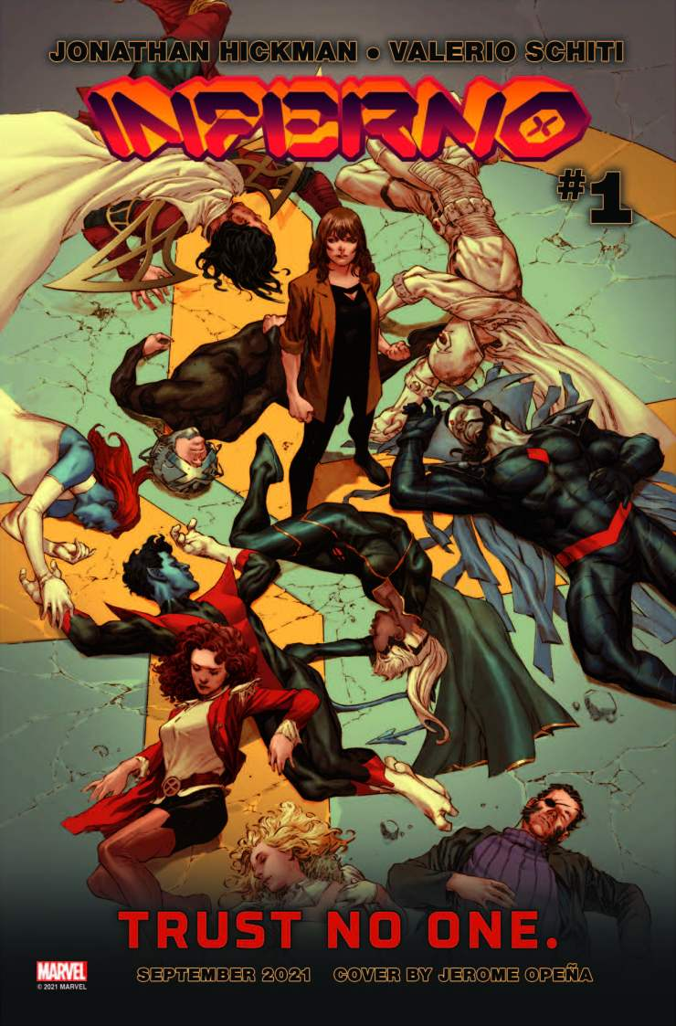 X-Men Monday #123 - Jonathan Hickman Talks 'Inferno,' Comic Book Spoilers and What Comes Next