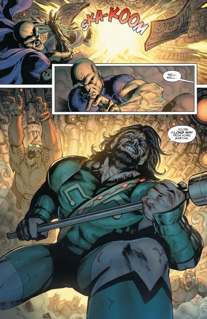 DC Preview: Justice League Last Ride #4