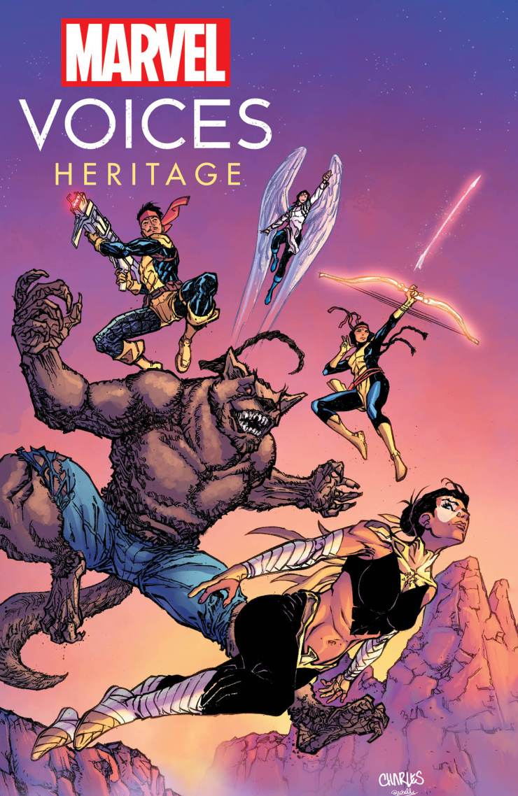 Marvel announces 'Marvel's Voices: Heritage' #1 for November
