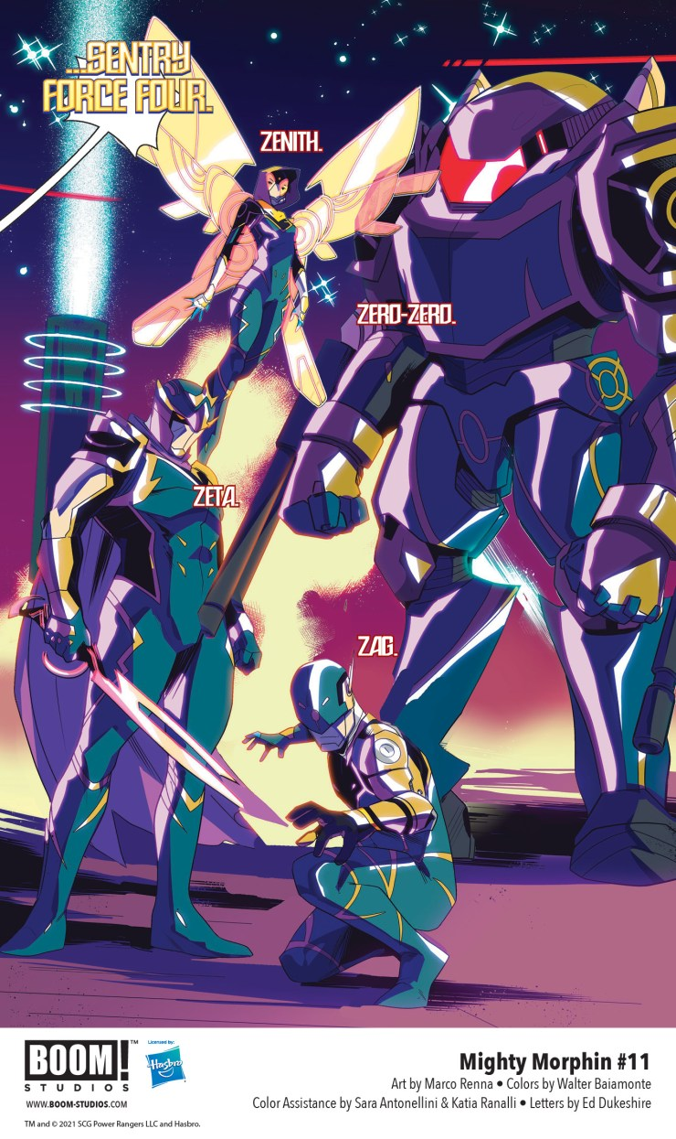 EXCLUSIVE BOOM! Preview: Mighty Morphin #11