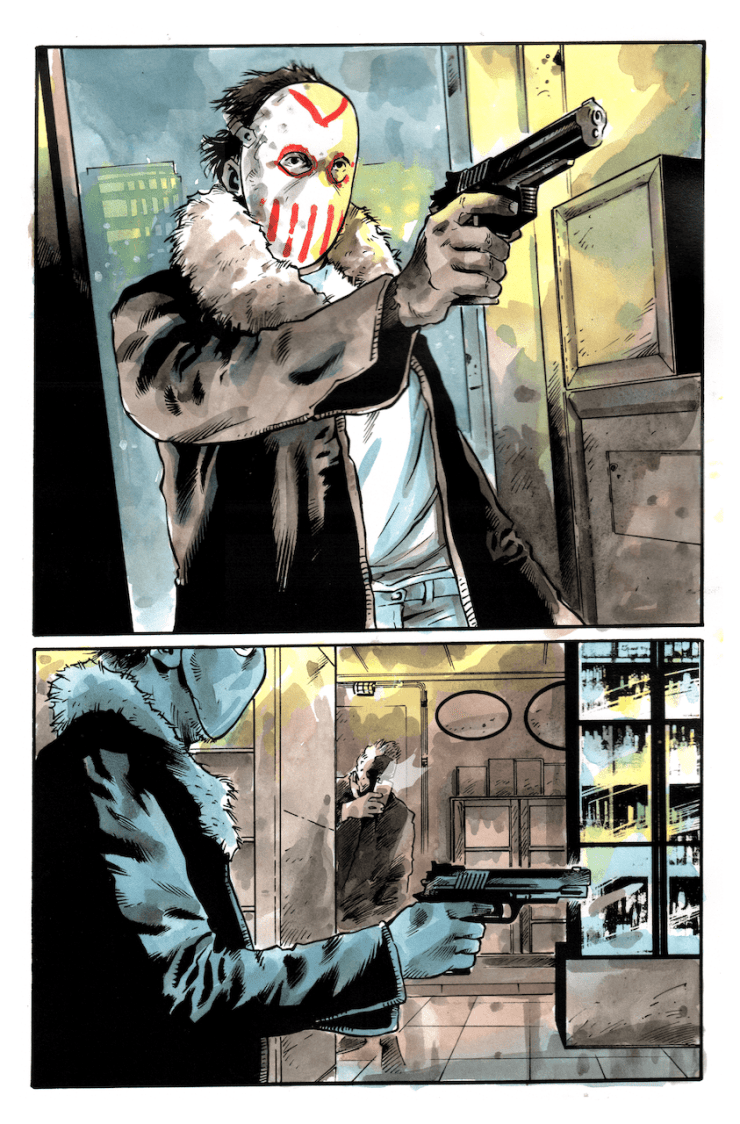 AfterShock First Look: Maniac of New York: The Bronx is Burning #1