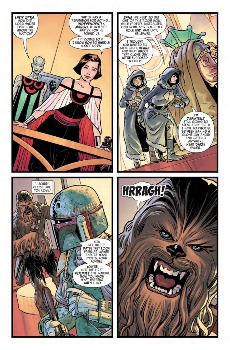 Marvel Preview: Star Wars: War of the Bounty Hunters #3