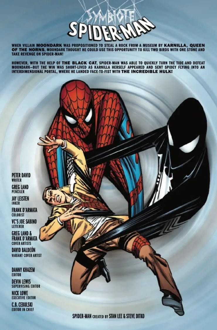 Marvel Preview: Symbiote Spider-Man: Crossroads #2