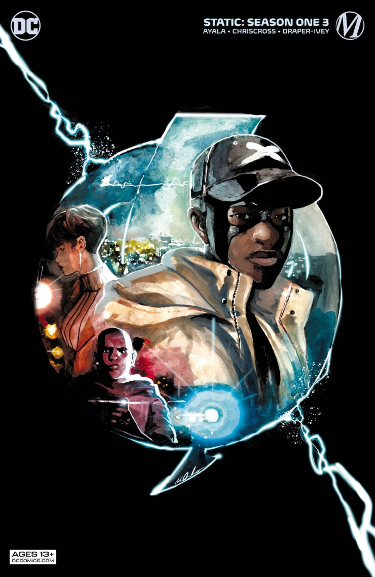 DC Preview: Static #3: Season One