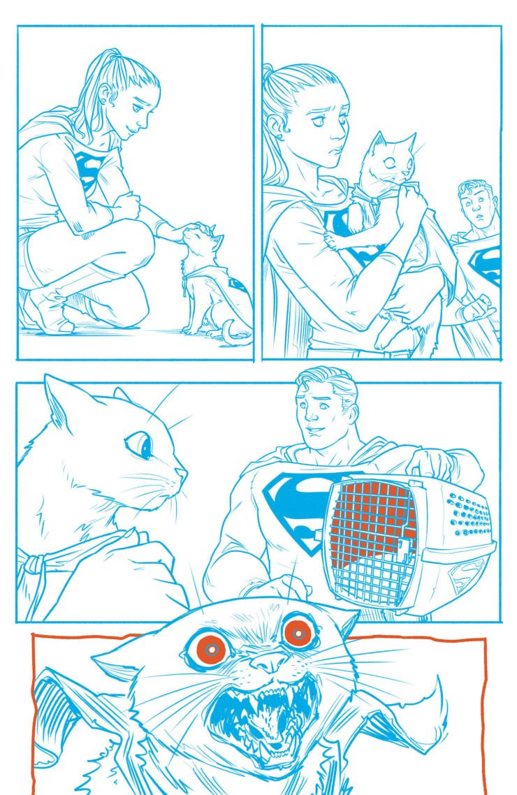 DC Preview: Superman Red and Blue #6