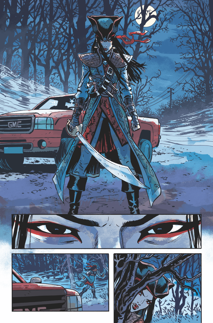 AfterShock First Look: The Heathens #1