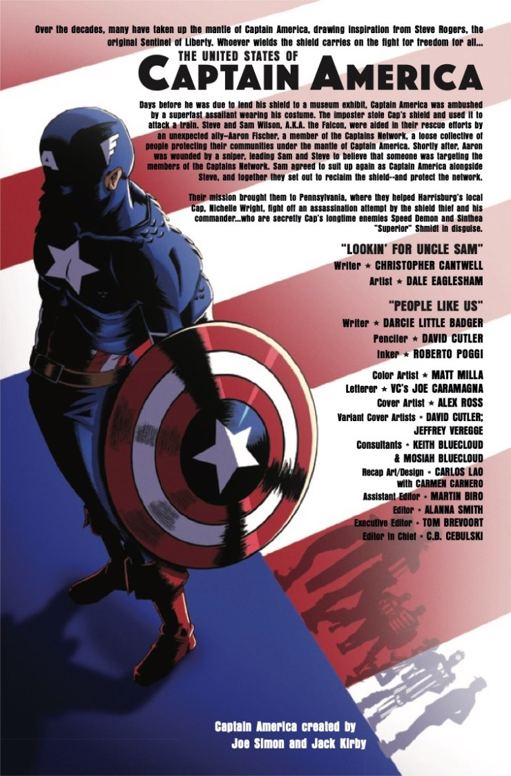 Marvel Preview: The United States of Captain America #3