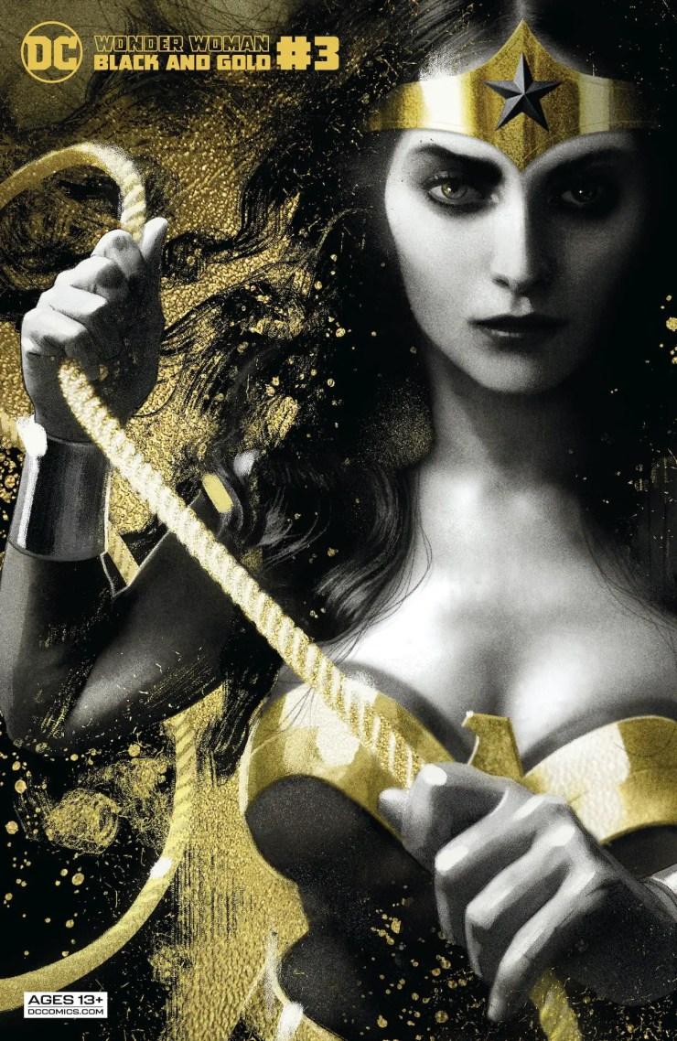 DC Preview: Wonder Woman Black & Gold #3