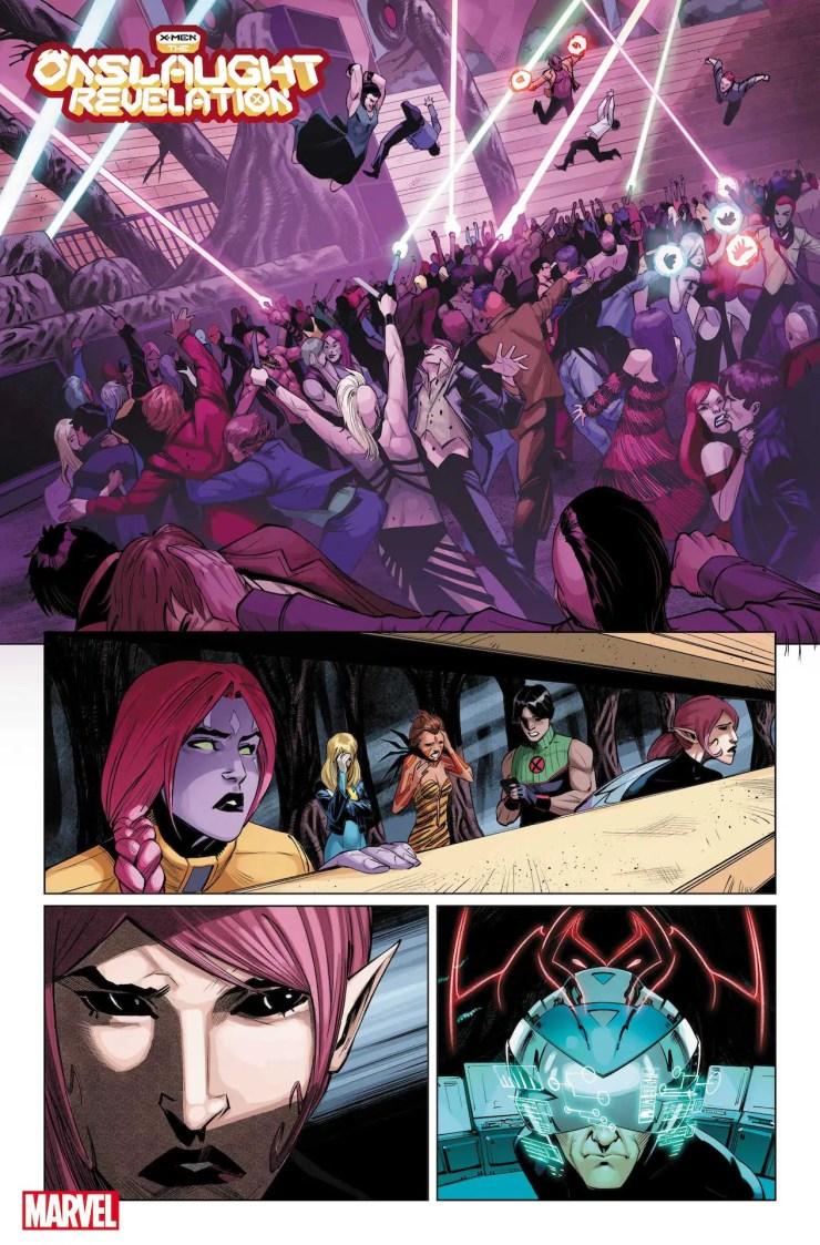 Marvel First Look: X-Men: Onslaught Revelation #1