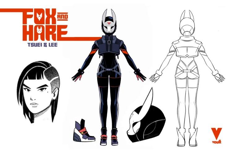 Vault announces cyberpunk series 'Fox and Hare' #1
