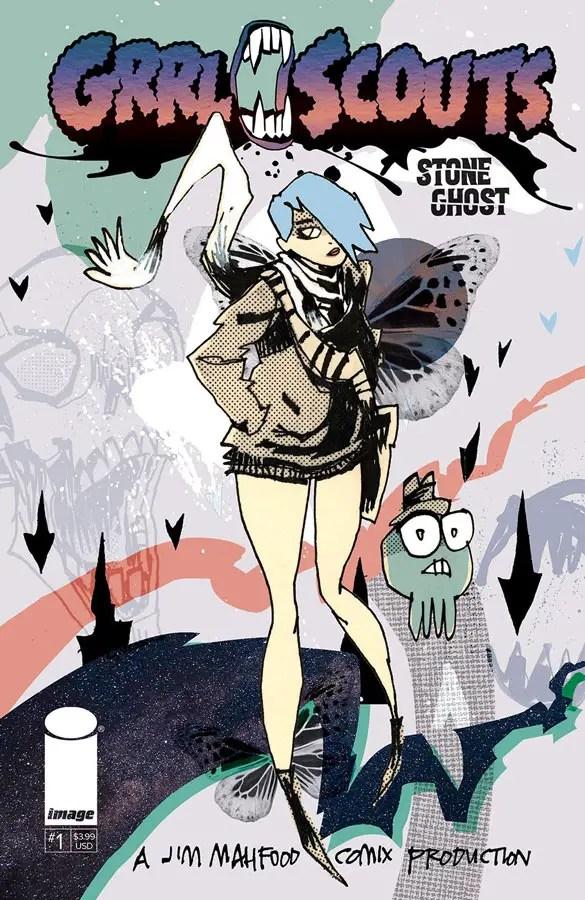 Image Comics announces Jim Mahfood's 'StoneGhost' for November