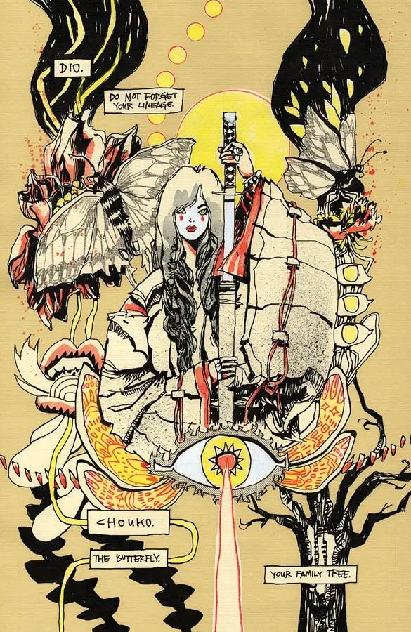 Image Comics announces Jim Mahfood's 'Stone Ghost' for November