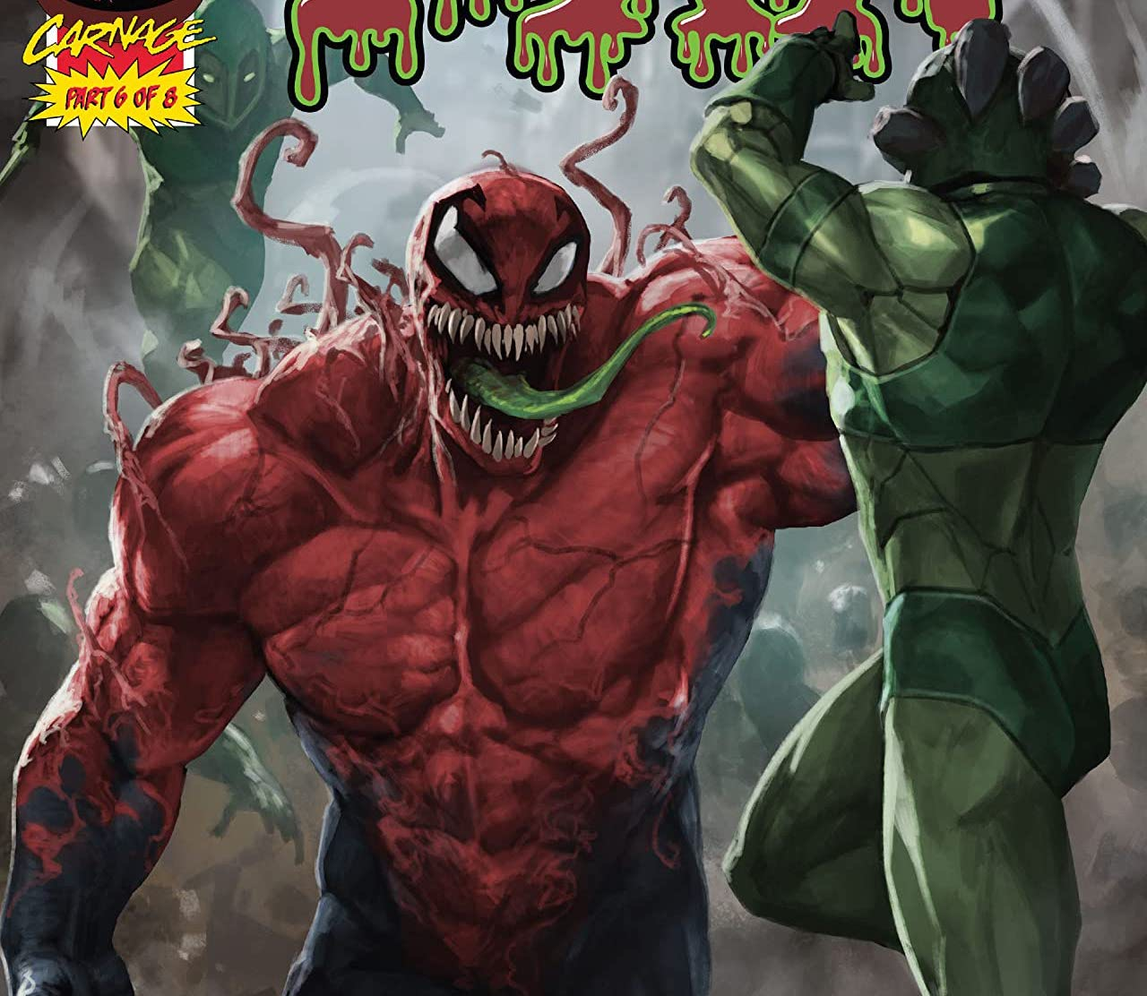 'Extreme Carnage: Toxin' #1 features a heroic Toxin