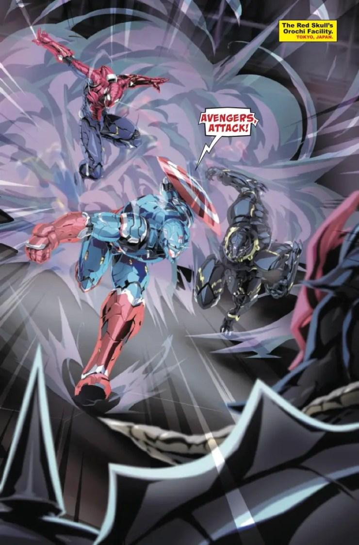 Marvel Preview: Avengers: Tech-On Avengers #2