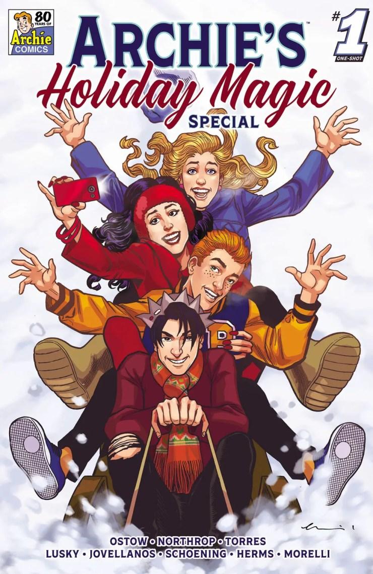 Archie Comics announces 'Archie's Holiday Magic Special' anthology