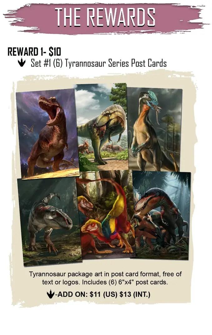 Beasts of the Mesozoic: Tyrannosaur Series Action Figures Kickstarter is live!