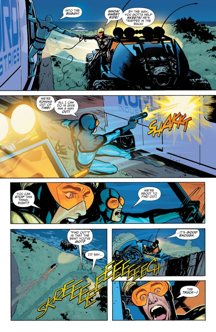 DC Preview: Blue & Gold #2
