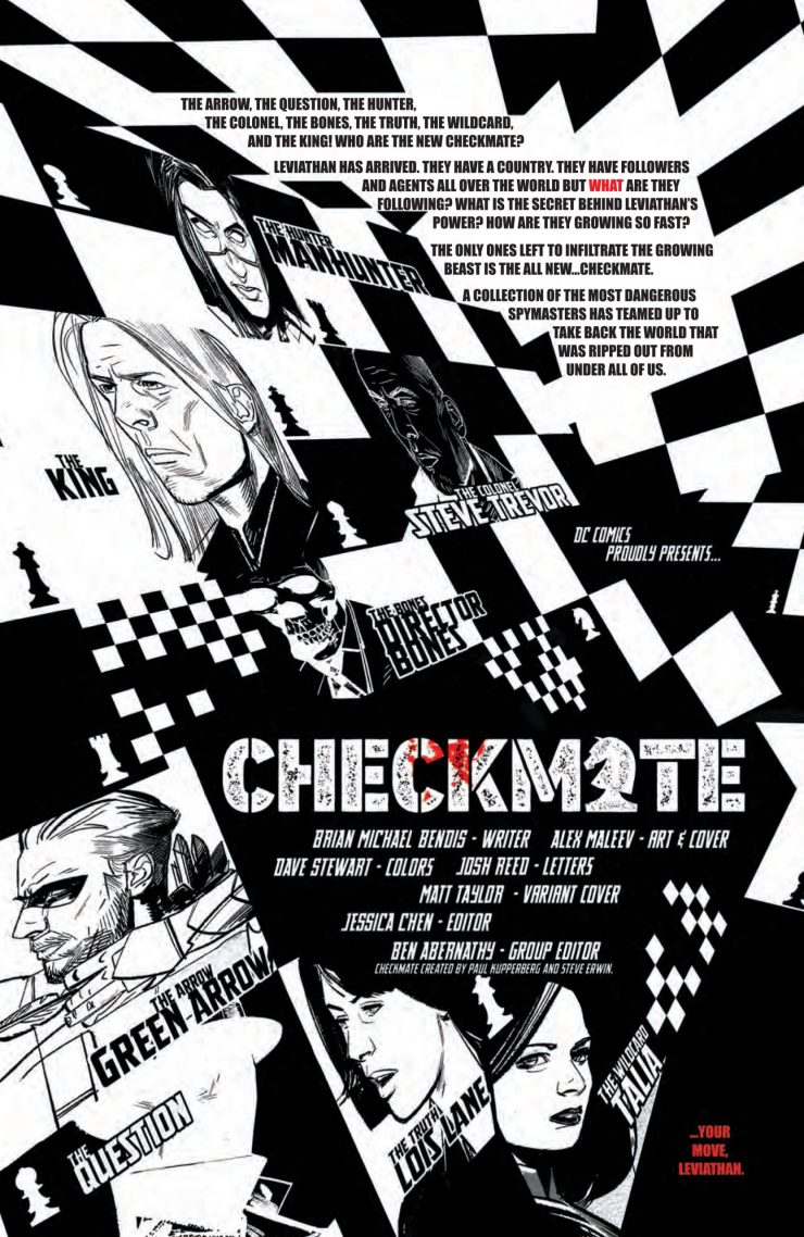 DC Preview: Checkmate #4