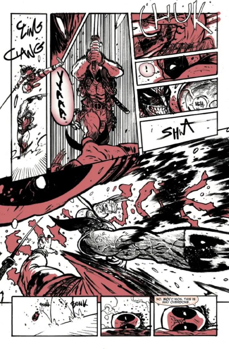 Marvel Preview: Deadpool: Black, White & Blood #2
