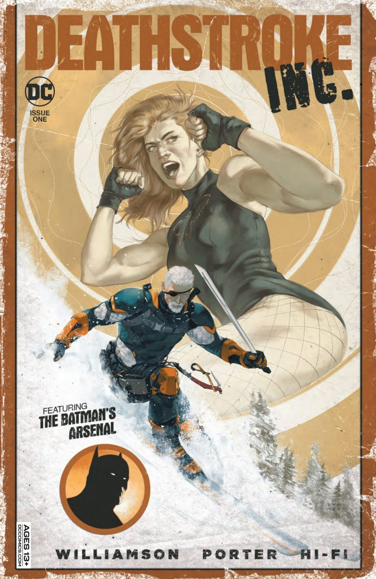 DC Preview: Deathstroke, Inc. #1