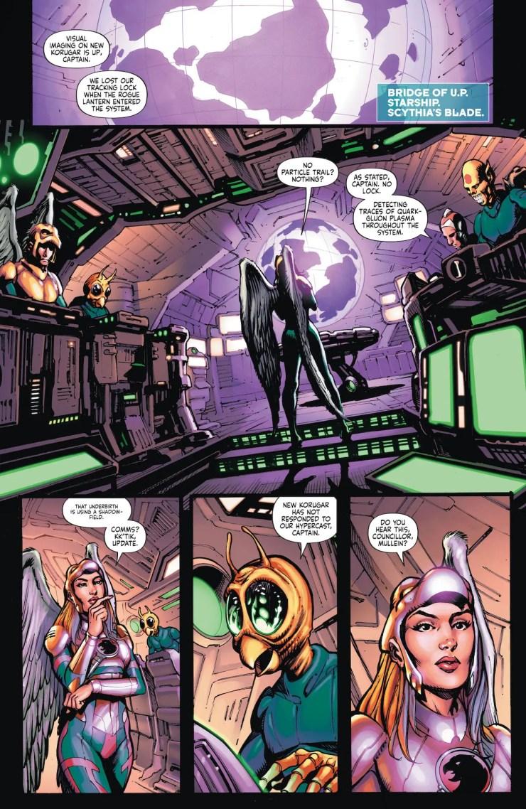 DC Preview: Green Lantern #6