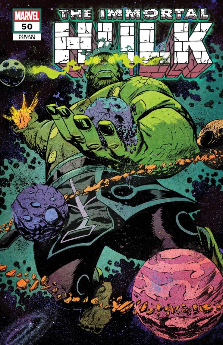 'Immortal Hulk' #50 getting eight covers commemorating eight key Hulk Moments